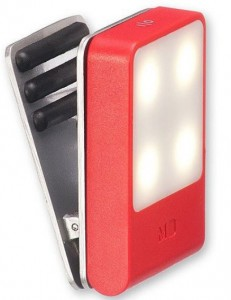 фото Лампа-закладка для путешествий Moleskine , красная (ER61TVBLF2) #2