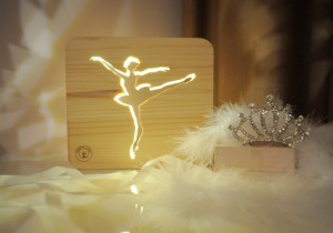 Настольная лампа-ночник «Балерина»