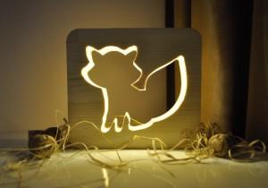 Настольная лампа-ночник «Лиса»