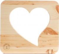 Подарок Настольная лампа-ночник Creative Light Dream Land 'Сердце' сосна (CL101085)