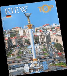 Книга Kiew. TOP-10. Фотоальбом