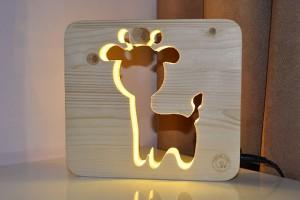 фото Настольная лампа-ночник Creative Light Dream Land 'Козлик' сосна, беспроводной (CL101156) #2