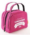 фото Термосумка ланч-бэг Pack&Go Lunch bag zip, ягодный #2