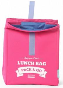 фото Термосумка ланч-бэг Pack&Go Lunch Bag L, розовый #3