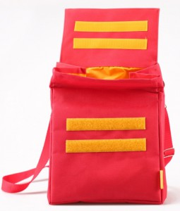 фото Термосумка ланч-бэг Pack&Go Lunch Bag L+ с логотипом, красный #3