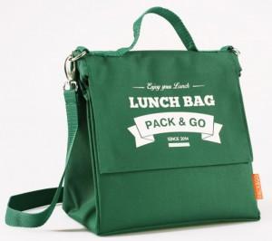 фото Термосумка ланч-бэг Pack&Go Lunch Bag L+ с логотипом, зелёный #2
