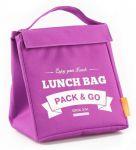 фото Термосумка ланч-бэг Pack&Go Lunch Bag M, фиолетовый #3