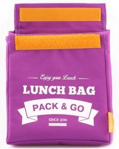 фото Термосумка ланч-бэг Pack&Go Lunch Bag M, фиолетовый #2