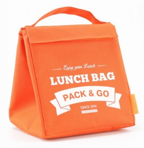 фото Термосумка ланч-бэг Pack&Go Lunch Bag M, оранжевый #4
