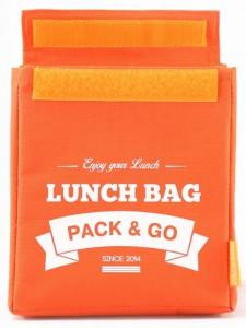фото Термосумка ланч-бэг Pack&Go Lunch Bag M, оранжевый #3