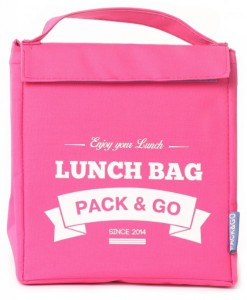 Термосумка ланч-бэг Pack&Go Lunch Bag M, розовый