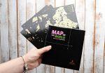 фото Набор скретч-открыток My Map 'Карта Мира. Континенты' в подарочном конверте #2