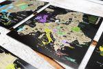 фото Набор скретч-открыток My Map 'Карта Мира. Континенты' в подарочном конверте #4