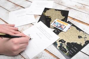 фото Набор скретч-открыток My Map 'Карта Мира. Континенты' в подарочном конверте #11