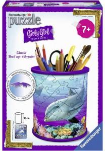 Пазл 3D Ravensburger 'Girly Girl. Подставка для карандашей. Подводный мир' 54 элементов (RSV-121168)