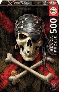 Пазл Educa 'Пиратский череп' 500 элементов (EDU-17964)