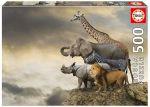 Пазл Educa 'Животные на краю пропасти' 500 элементов (EDU-16737)