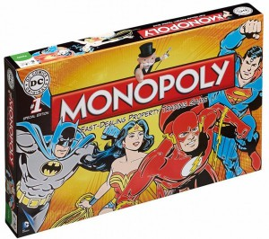 Настольная игра Winning Moves 'Monopoly - Monopoly DC Comics Retro ' (022545)