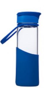 Бутылка для напитков Migo 0,55 л  Enjoy Glass синяя (6939236342872)
