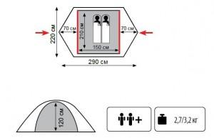 фото Палатка Tramp Lite Tourist #2