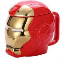 Подарок Чашка 3D 'Железный человек' (top-723)
