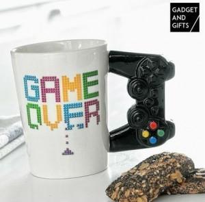 Подарок Керамическая чашка Game Over (top-633)