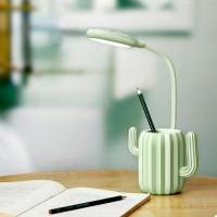 Подарок Настольная Лампа Кактус Green (top-653)