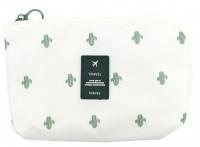 Подарок Органайзер для косметики и мелочей Travel Bag Кактус (top-565)
