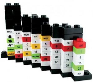 фото Вечный Календарь Lego Black (top-511) #2