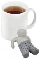 Подарок Силиконовый заварник для чая 'Человечек' (top-0001)