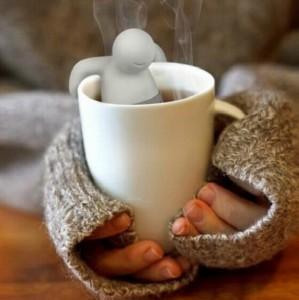 фото Силиконовый заварник для чая 'Человечек' (top-0001) #6