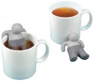 фото Силиконовый заварник для чая 'Человечек' (top-0001) #4