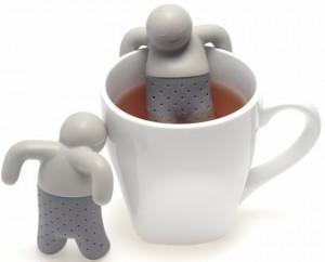 фото Силиконовый заварник для чая 'Человечек' (top-0001) #5