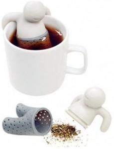 фото Силиконовый заварник для чая 'Человечек' (top-0001) #3