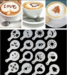фото Трафареты для кофе (top-729) #5