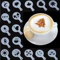 Подарок Трафареты для кофе (top-729)
