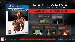 скриншот Left Alive Day One Steelbook Edition PS4 #2