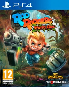 игра Rad Rodgers PS4 - русская версия