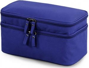Подарок Двухъярусный органайзер для нижнего белья или детских принадлежностей (темно-синий)