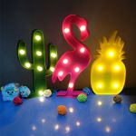 фото Светильник 3D 'Фламинго' (top-507) #6