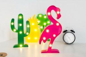 фото Светильник 3D 'Фламинго' (top-507) #2