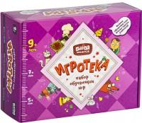 Настольная игра Банда Умников Игротека 9+ (Цветариум + Делиссимо + Геометрика + Геометрика Extra + подарочная коробка) (УМ082)