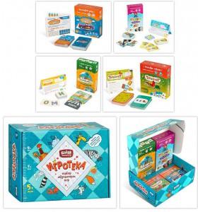 фото Настольная игра Банда Умников 'Игротека 5+' (Этажики + Зверобуквы + Турбосчёт + Трафик Джем + подарочная коробка) (УМ080) #3