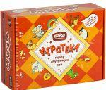 Настольная игра Банда Умников 'Игротека 7+ (Читай-Хватай + Турбосчёт + Цветариум + Геометрика + подарочная коробка) (УМ081)