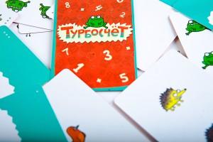 фото Настольная игра Банда Умников 'Турбокомплект 2 в 1' (Турбосчет и Турбосчет Форсаж в подарочной коробке) (УМ053) #8