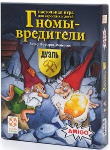 Настольная игра 'Гномы-вредители: Дуэль'(на русском) (217505)