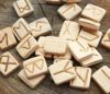 Подарок Руны деревянные (Ива) 24 шт