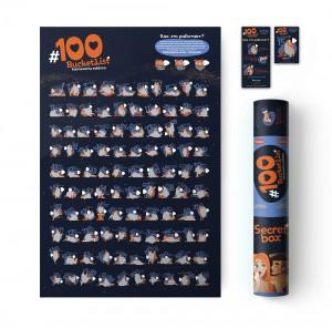 фото Подарочный суперкомплект 18+ (Скретч постер 'Kamasutra' + настольная игра 'Правда или Дело: Для пар' + книга Камасутра De Luxe) #3