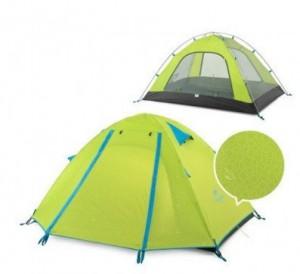 Палатка NatureHike 'P-Series II' 2-местная, 210T 65D polyester Graphic (6927595729601)