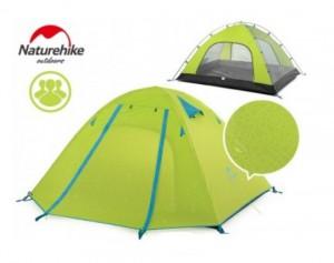 фото Палатка NatureHike P-Series IV (4-х местная) 210T 65D polyester Graphic (6927595729687) #2